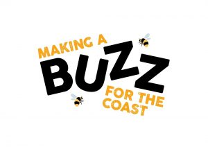 Making a Buzz for the Coast project logo