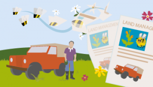 Donate £75 - Helps towards the production of land management factsheets. These advise land managers on ways to improve their land for wild pollinators.