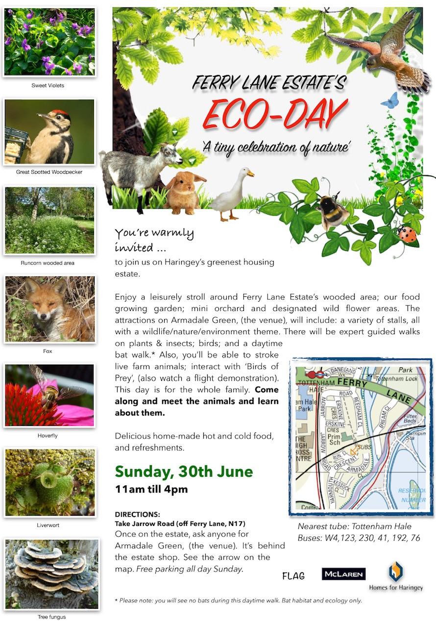 Ferry Lane Estate's ECO-Day @ Armadale Green, London N17 9QD, UK | England | United Kingdom
